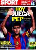 Portada diario Sport del 5 de Mayo de 2012