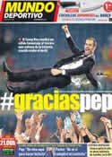Portada Mundo Deportivo del 5 de Mayo de 2012