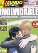 Portada Mundo Deportivo del 6 de Mayo de 2012