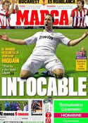 Portada diario Marca del 7 de Mayo de 2012