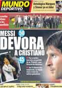 Portada Mundo Deportivo del 7 de Mayo de 2012