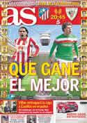 Portada diario AS del 9 de Mayo de 2012