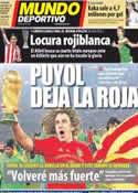Portada Mundo Deportivo del 9 de Mayo de 2012