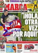 Portada diario Marca del 11 de Mayo de 2012