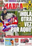 Portada diario Marca del 11 de Mayo de 2012