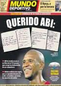 Portada Mundo Deportivo del 11 de Mayo de 2012
