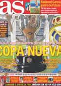 Portada diario AS del 12 de Mayo de 2012