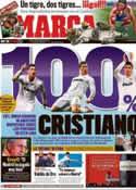 Portada diario Marca del 12 de Mayo de 2012