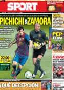 Portada diario Sport del 12 de Mayo de 2012