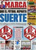Portada diario Marca del 13 de Mayo de 2012