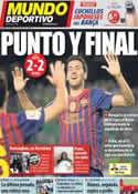 Portada Mundo Deportivo del 13 de Mayo de 2012