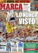 Portada diario Marca del 14 de Mayo de 2012