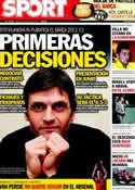 Portada diario Sport del 15 de Mayo de 2012