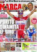 Portada diario Marca del 16 de Mayo de 2012