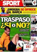 Portada diario Sport del 16 de Mayo de 2012