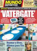 Portada Mundo Deportivo del 16 de Mayo de 2012