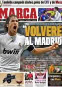 Portada diario Marca del 17 de Mayo de 2012