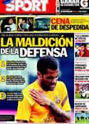 Portada diario Sport del 17 de Mayo de 2012