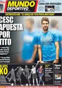 Portada Mundo Deportivo del 17 de Mayo de 2012