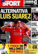 Portada diario Sport del 18 de Mayo de 2012