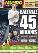 Portada Mundo Deportivo del 18 de Mayo de 2012