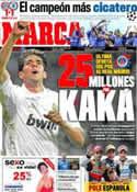 Portada diario Marca del 20 de Mayo de 2012