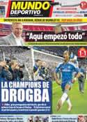 Portada Mundo Deportivo del 20 de Mayo de 2012