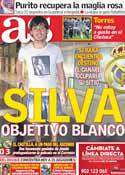 Portada diario AS del 21 de Mayo de 2012