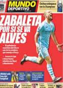 Portada Mundo Deportivo del 21 de Mayo de 2012