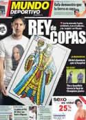 Portada Mundo Deportivo del 22 de Mayo de 2012