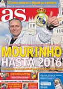 Portada diario AS del 23 de Mayo de 2012