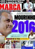 Portada diario Marca del 23 de Mayo de 2012
