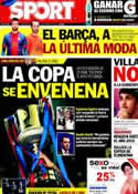 Portada diario Sport del 23 de Mayo de 2012