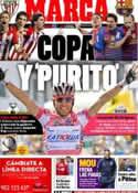 Portada diario Marca del 24 de Mayo de 2012