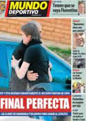 Portada Mundo Deportivo del 24 de Mayo de 2012