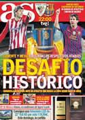 Portada diario AS del 25 de Mayo de 2012