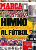 Portada diario Marca del 25 de Mayo de 2012