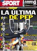 Portada diario Sport del 25 de Mayo de 2012