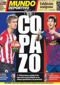 Portada Mundo Deportivo del 25 de Mayo de 2012