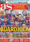 Portada diario AS del 26 de Mayo de 2012