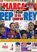 Portada diario Marca del 26 de Mayo de 2012