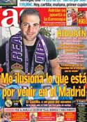 Portada diario AS del 27 de Mayo de 2012