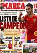 Portada diario Marca del 27 de Mayo de 2012