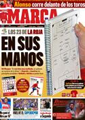 Portada diario Marca del 28 de Mayo de 2012