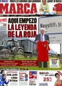 Portada diario Marca del 29 de Mayo de 2012