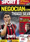 Portada diario Sport del 29 de Mayo de 2012