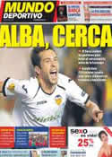 Portada Mundo Deportivo del 29 de Mayo de 2012