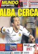 Portada Mundo Deportivo del 29 de Mayo de 2012