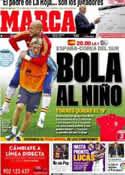 Portada diario Marca del 30 de Mayo de 2012