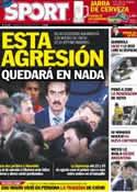 Portada diario Sport del 30 de Mayo de 2012